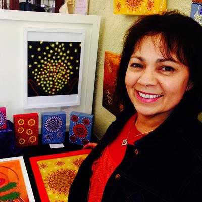 Karen Maber, Australian Aboriginal Artist